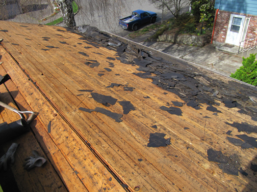 Below Roof Pictures: 3 Layer Tear Off, Re Roof With 30 Year Architectural  Shingles